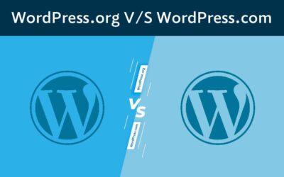 WordPress.org V/S WordPress.com